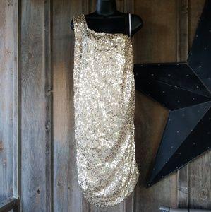 Deb one shoulder dress size 3xl